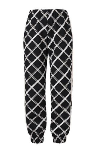 Medium kalmanovich print striped print relaxed pants
