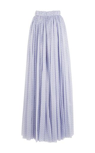 Medium emilia wickstead print the gillian a line maxi skirt