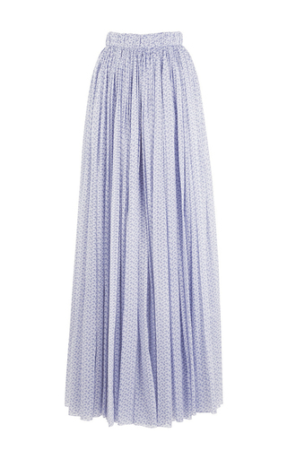 Medium emilia wickstead print the gillian a line maxi skirt