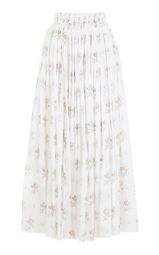 Medium emilia wickstead print the gail high waist skirt