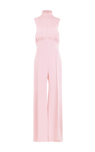 Medium emilia wickstead pink the hulla wide legged jumpsuit