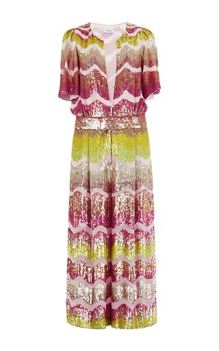 Medium temperley london metallic fairyqueen sequin embellished jumpsuit