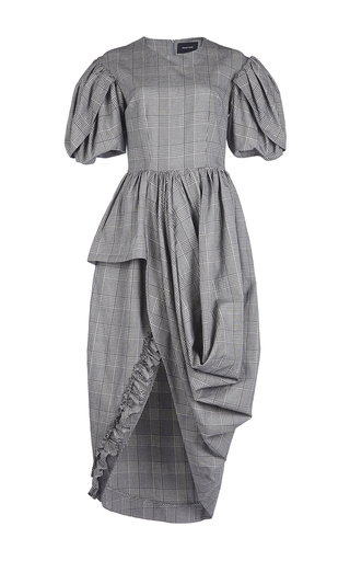 Medium simone rocha plaid prince of wales check dress