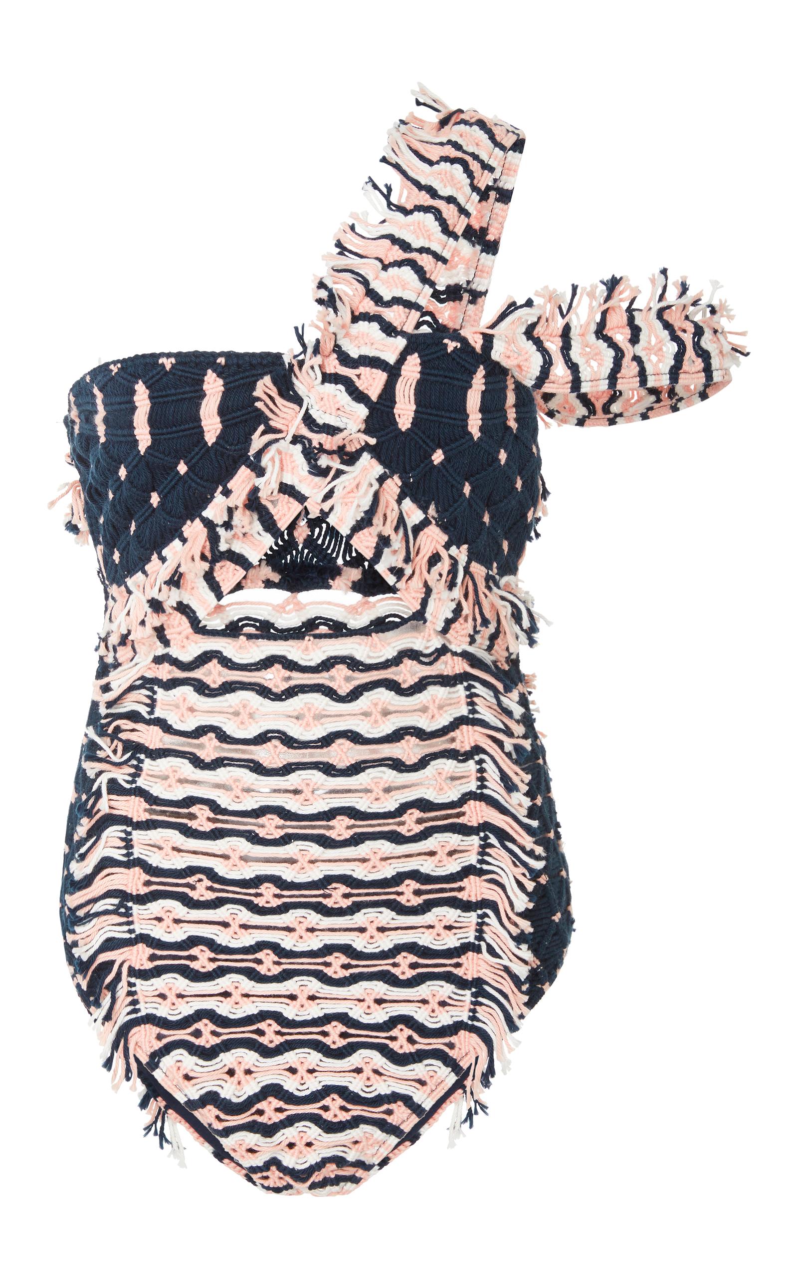 Macramé Cotton Swimsuit