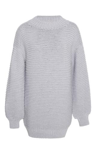 Medium i love mr mittens light grey cotton sweater