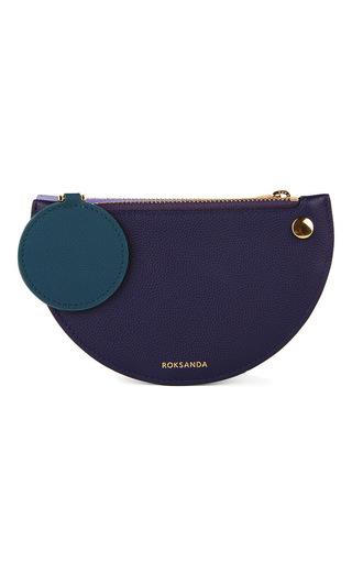 Medium roksanda ilincic purple demi lunette coin purse