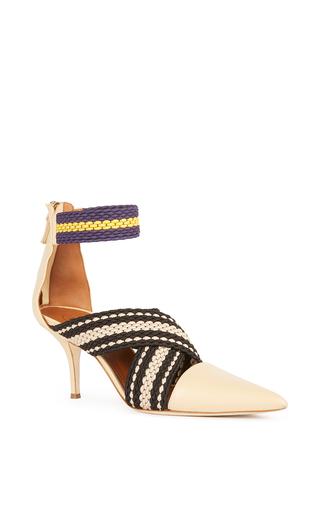 Medium malone souliers x roksanda white dana sandal