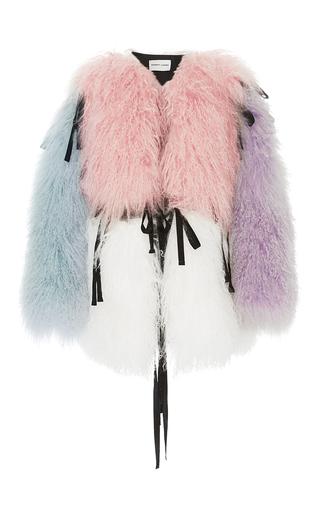 Medium sandy liang multi luna reversible fur coat