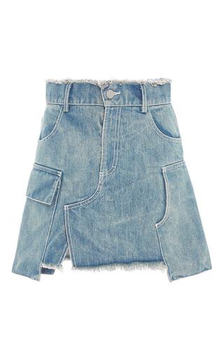 Medium sandy liang light wash emmett denim mini skirt