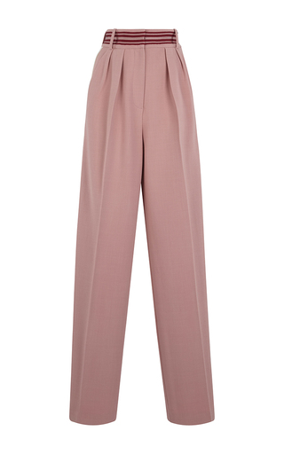 Medium roksanda ilincic pink tillae high waist trousers