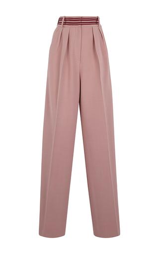 Medium roksanda ilincic pink tillae high waist trousers