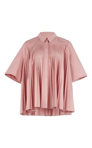 Medium roksanda ilincic pink mikula pleated top