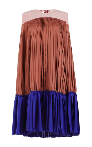 Medium roksanda ilincic multi malene pleated mini dress