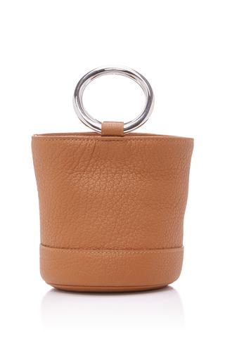 Medium simon miller tan strap bonsai bucket bag