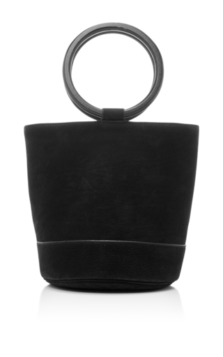 Medium simon miller black bonsai bucket bag