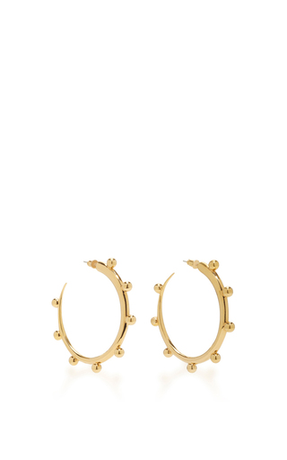 Medium khiry gold khartoum hoops embellished