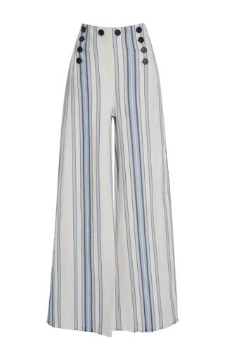 Medium lemlem stripe halima striped button sailor pant