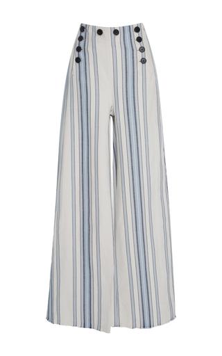 Medium lemlem stripe halima striped button sailor pant