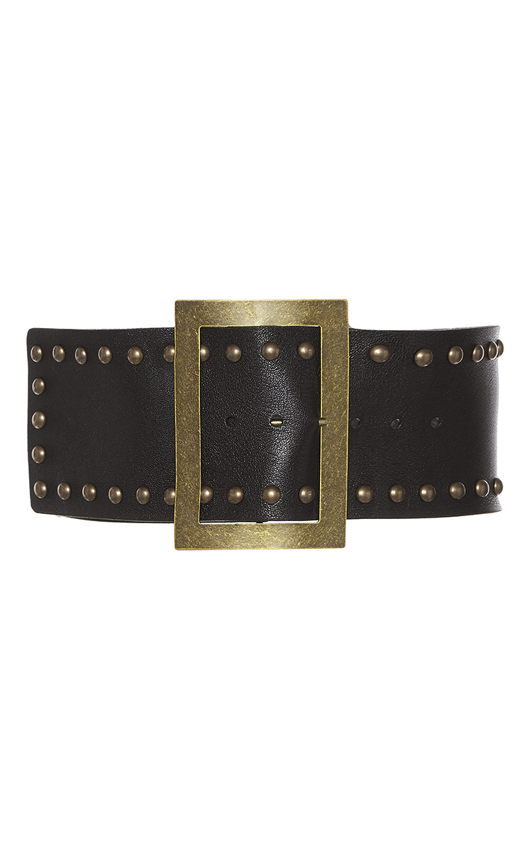 stud embellished belt - Black Philosophy di Lorenzo Serafini