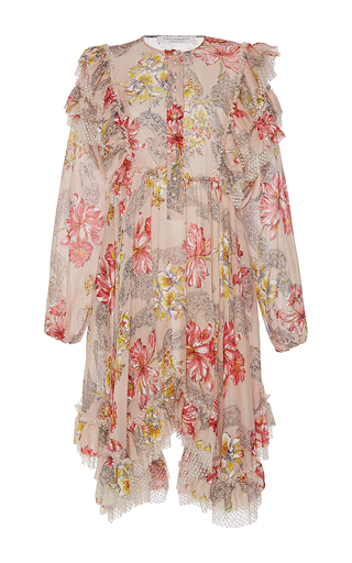 Medium philosophy di lorenzo serafini floral floral printed a line dress