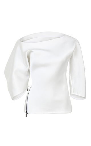 Medium maticevski white profusion blouse