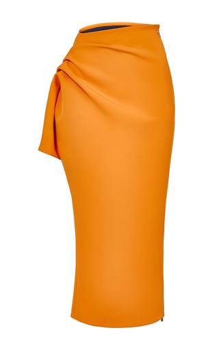 Medium maticevski orange emotion pencil skirt 2