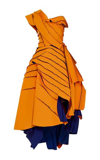 Medium maticevski orange validation gown