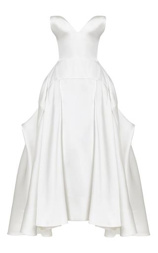 Medium maticevski white amore gown