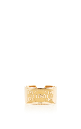 Medium alison lou orange stackable 100 ring