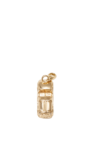 Medium alison lou gold car charm