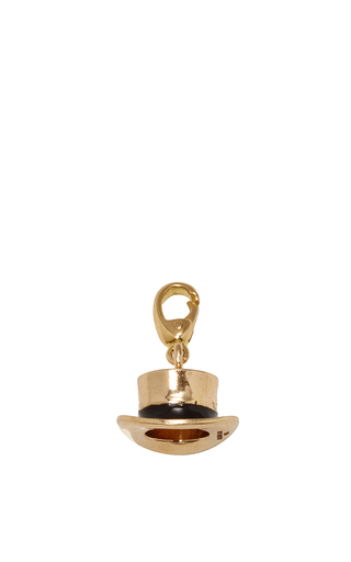 Medium alison lou gold hat charm