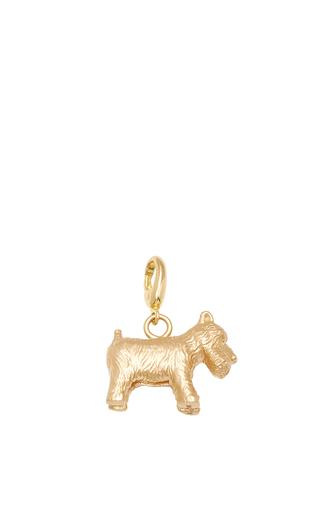 Medium alison lou gold dog charm