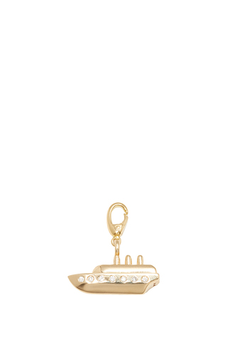 Medium alison lou gold boat charm