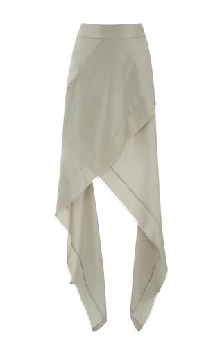 Medium kitx light grey angular layer skirt