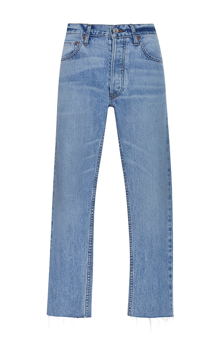 RELAXED CROP JEANS