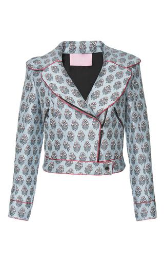 Medium giamba print cropped printed jacket 3