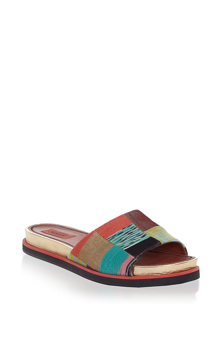 Missoni Suede Slide Sandals lowest price online cheap perfect clearance cheap price buy cheap largest supplier cjxPTvF9