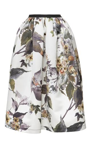 Medium antonio marras multi floral print knee length skirt