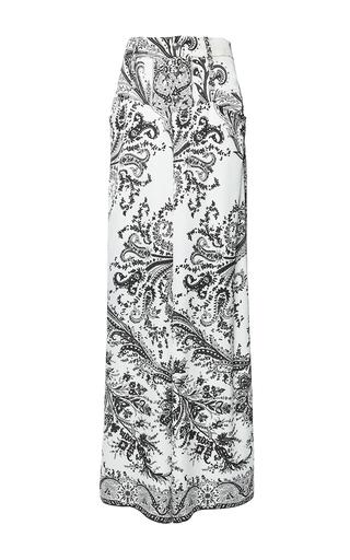 Medium etro print cedre trouser