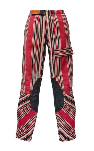 Medium etro stripe anise trouser