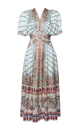 Medium etro print jasmin dress 2