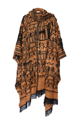 Medium etro multi cedre cape