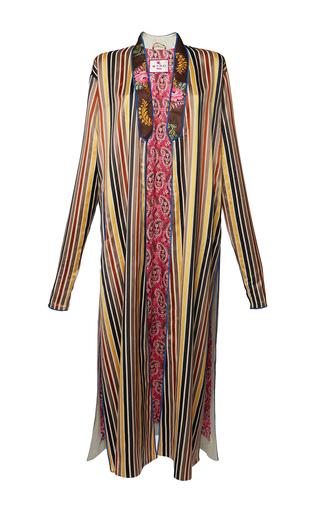Medium etro stripe anise coat 2