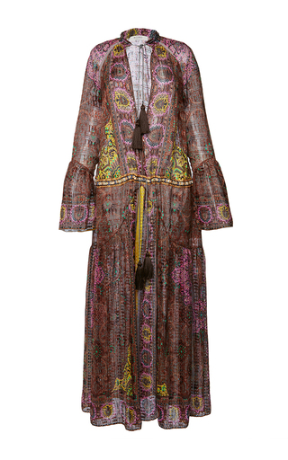 Medium etro print saffron dress 5