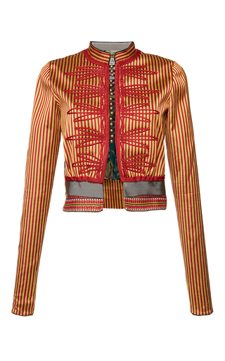 Medium etro stripe rose jacket 2