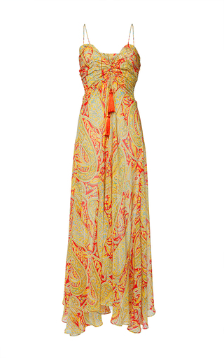 Medium etro print fleur d oranger dress