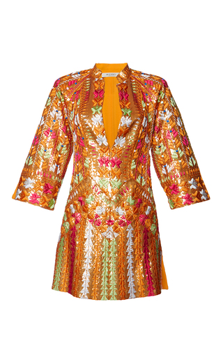 Medium etro metallic patchouli dress