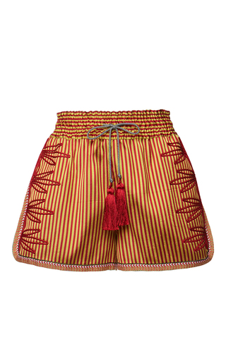 Medium etro stripe tangerin shorts 2