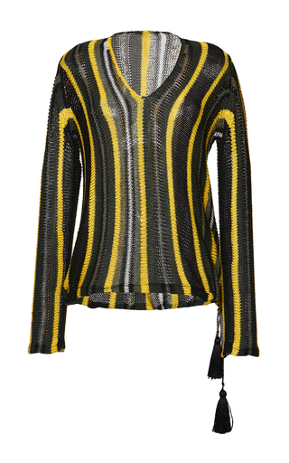 Medium etro stripe patchouli sweater