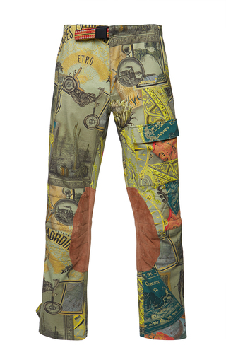 Medium etro stripe anise trouser 5